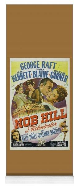 Classic Movie Poster - Nob Hill Yoga Mat