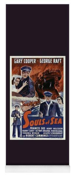 Classic Movie Poster - Souls At Sea Yoga Mat