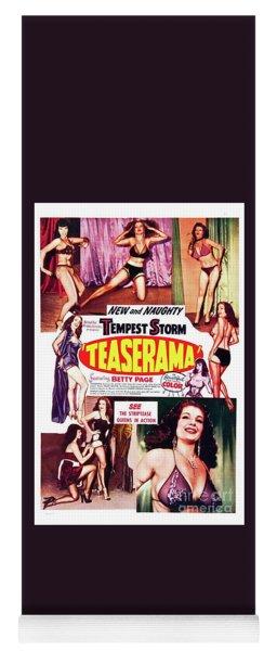 Classic Movie Poster - Teaserama Yoga Mat