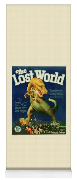 Classic Movie Poster - The Lost World Yoga Mat