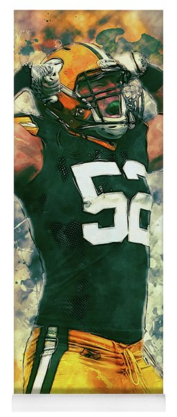 Clay Matthews Yoga Mat