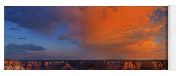 Clearing Storm Cape Royal North Rim Grand Canyon Np Arizona Yoga Mat