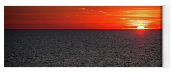 Clearwater Sunset Yoga Mat
