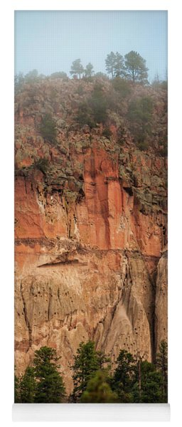 Cliff Face Yoga Mat
