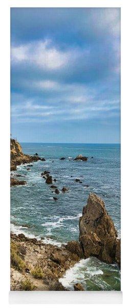 Cliffs Of Corona Del  Mar Yoga Mat