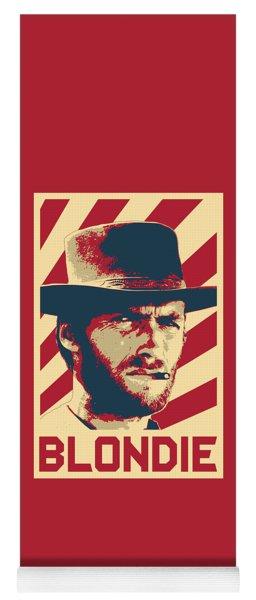 Clint Eastwood Blondie Retro Propaganda Yoga Mat