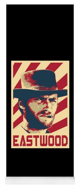 Clint Eastwood Retro Propaganda Yoga Mat