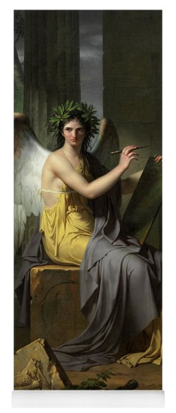 Clio, Muse Of History, 1800 Yoga Mat