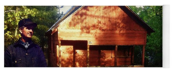 Closing The Cabin For Winter Yoga Mat