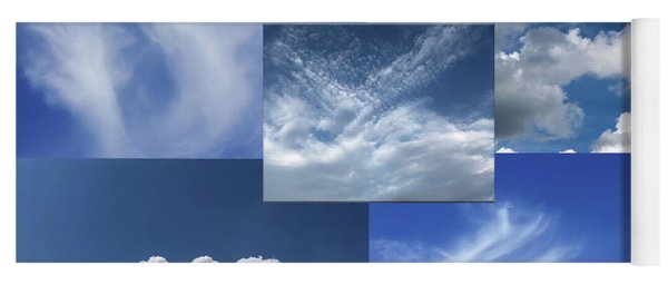 Cloud Collage Two Yoga Mat