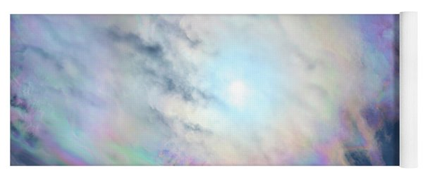 Cloud Iridescence Yoga Mat