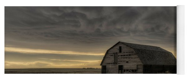 Clouds And Barn Yoga Mat