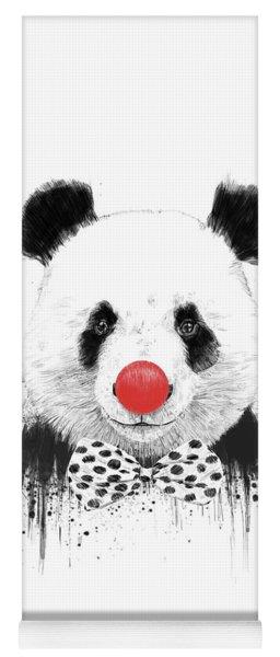 Clown Panda Yoga Mat