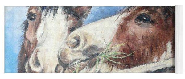Clydesdale Pair Yoga Mat