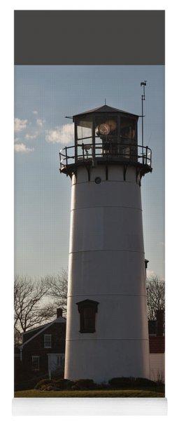 Coast Guard Lighthouse Along The Cape Yoga Mat