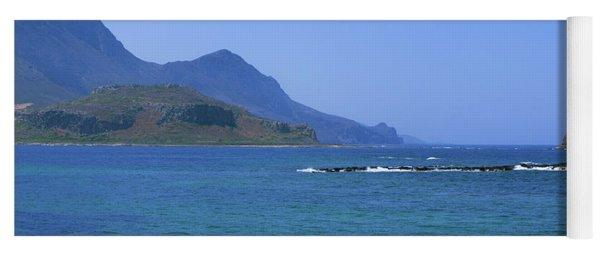 Coast Of Gramvousa Yoga Mat