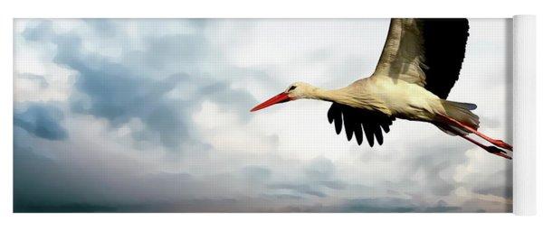Coastal Stork Yoga Mat