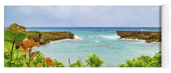 Coastline In Saint Mary Jamaica Yoga Mat