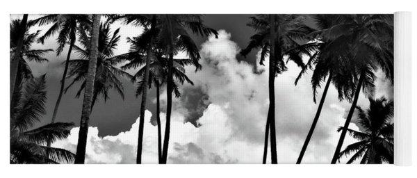 Coconut Trees At Mayaro Yoga Mat