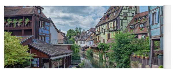 Colmar In France Yoga Mat