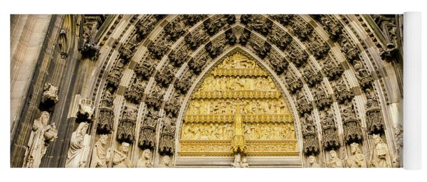 Cologne Cathedral Yoga Mat