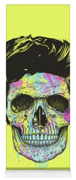 Color Your Skull Yoga Mat