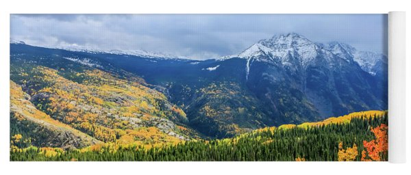 Colorado Aspens And Mountains 3 Yoga Mat