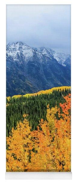 Colorado Aspens And Mountains 4 Yoga Mat