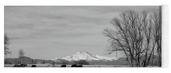 Colorado Western Panoramic View Yoga Mat