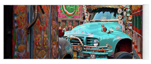 Truck Art Yoga Mat