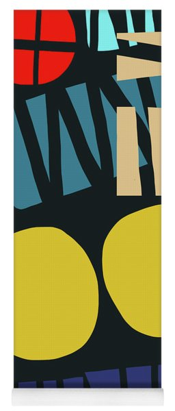Colorful Bento 5- Art By Linda Woods Yoga Mat