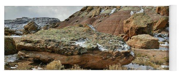 Colorful Dunes Near Colorado National Monument Yoga Mat