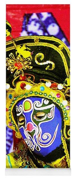 Colorful Masked Magician Yoga Mat