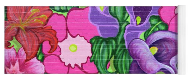 Colorful Mural Yoga Mat