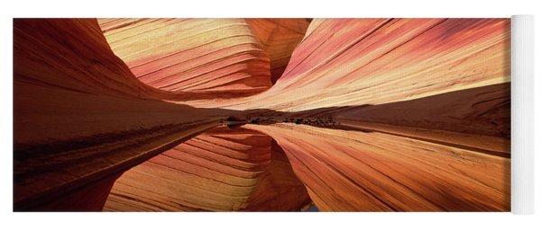 Colorful Sandstone Colorado Yoga Mat