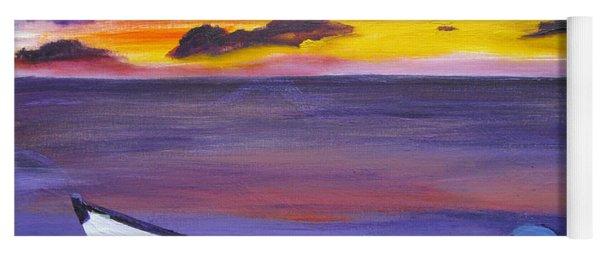 Colorful Sunset Yoga Mat