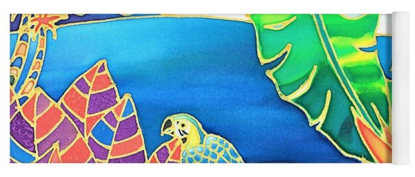 Colorful Tropics 16 Yoga Mat