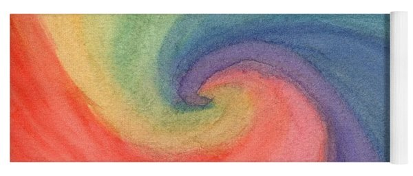 Colorful Wave Yoga Mat