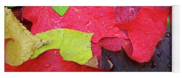 Colors Of Fall Yoga Mat