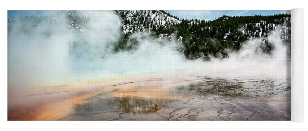 Colors Of Yellowstone Yoga Mat