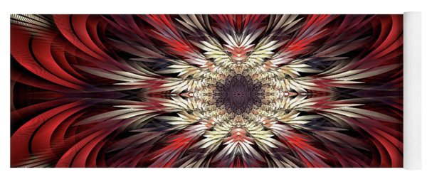 Yoga Mat featuring the digital art Colossians by Missy Gainer