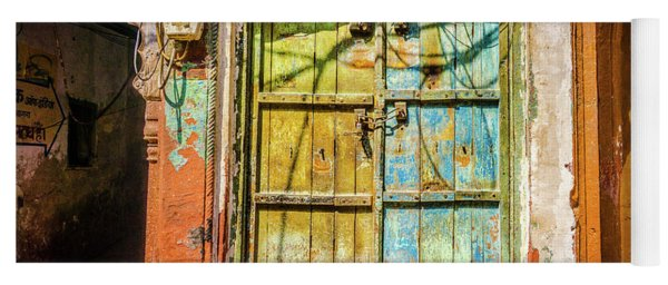 Colourful Doors Agra Yoga Mat