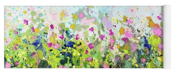 Colourful Meadow 41 Yoga Mat