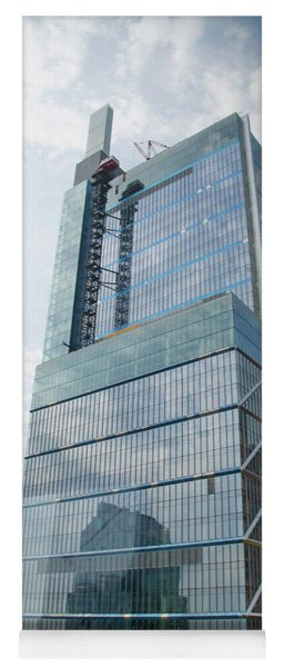 Yoga Mat featuring the photograph Comcast Technology Center - Philadelphia by Bill Cannon