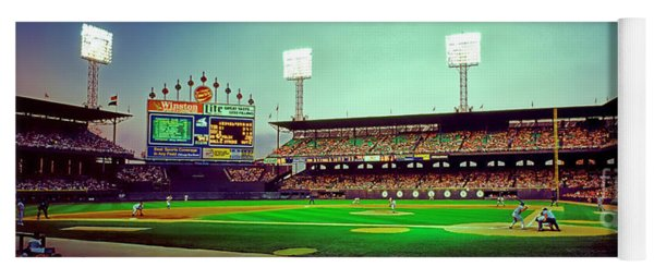 Comiskey Park Third And Home  Yoga Mat