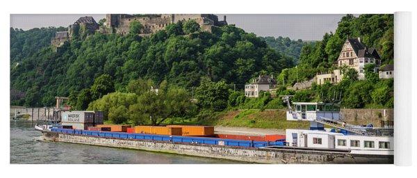 Commerce Along The Rhine Yoga Mat