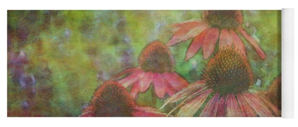 Coneflowers Among The Lavender 1667 Idp_2 Yoga Mat