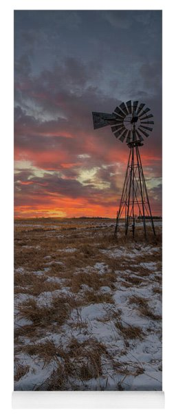Yoga Mat featuring the photograph Cool Breeze  by Aaron J Groen