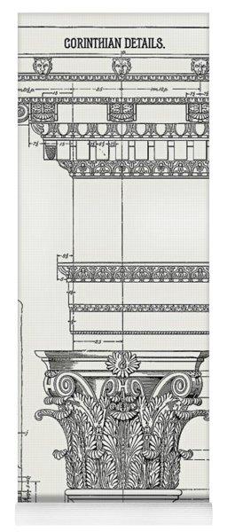Corinthian Architecture Yoga Mat