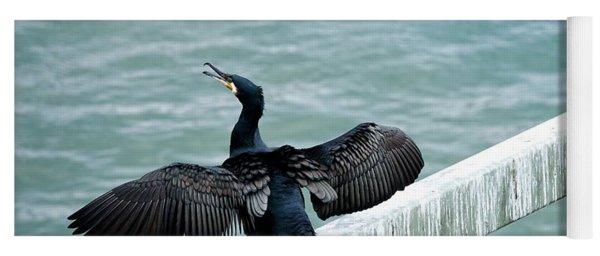 Cormorant Roosting Place Yoga Mat
